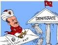 Karikatur | Erdogan, Putsch, Demokratie