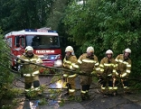 Feuerwehreinsatz nach Gewitter