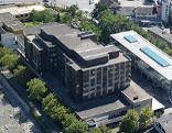 Krankenhaus Dornbirn von oben