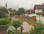 Hochwasser in Kössen