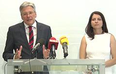Peter Kaiser Muna Duzdar državna sekretarka integracija narodnosti