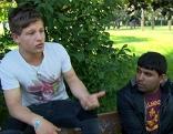 """Der 15-jährige Afghane Emran wird im Park von allen """"Spartacus"""" genannt"""