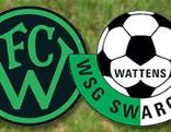 Logos FC Wacker Innsbruck und WSG Swarovski Wattens