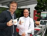 Wolfgang Zanon und Claudia Schneider im ORF Salzburg Wintergarten