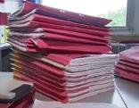 Akten Wohnbau Landesregierung Bürokratie Akt