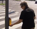 Leitsystem Leitlinien Blinde Sehbehinderte