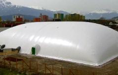 Traglufthalle im Gewerbegebiet Innsbruck Mühlau/Arzl