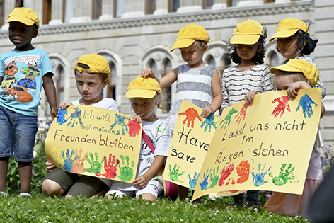 Kindergarten Protest Alt Wien