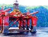 Öl Erdöl Bohrplattform Förderplattform Bohrinsel Ölindustrie Ölpreis Ecofisk Nordsee Brent