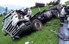 Tödlicher Lkw-Unfall in Kirchberg