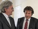 SPÖ-Chef Ingo Mayr und sein Rechtsanwalt Martin Leys