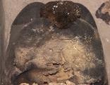 Totenschädel mit Hut