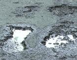 Schlagloch Straßenbau Schäden