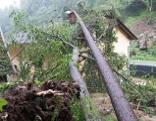Überflutungen Pregarten Unwetter