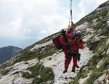 Tschechin auf dem Schafberg verunglückt Bergrettung