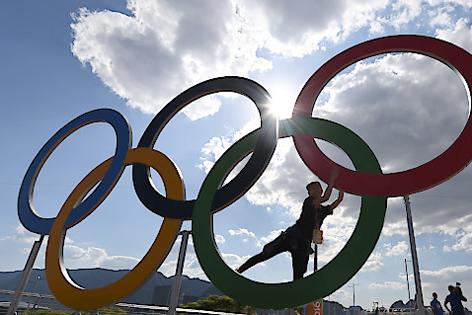 Rio, Olympische Ringe