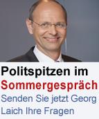 Georg Laich moderiert Sommergespräche