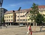 Heiligengeistplatz Klagenfurt Quelle-Gebäude