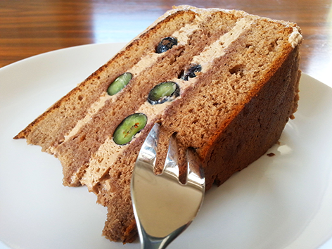 Suti kocht Schoko-Heidelbeer-Torte