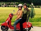 Reise mit Vespa und Sonja Kleindienst