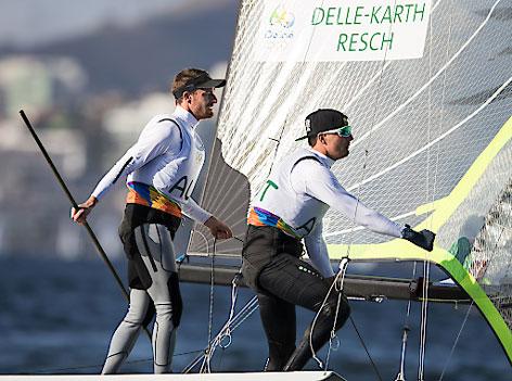 Nico Delle-Karth und Niko Resch