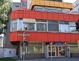 Ehemalige ÖBB Betriebskantine an der Elisabethstraße in der Stadt Salzburg