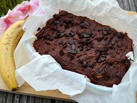 Süßkartoffel-Schokolade-Brownies
