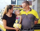 Pannenfahrer Gerhard Hollitscher befreite Kleinkind aus dem Auto