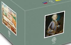 Mozart Gesamtausgabe auf 220 CDs mozart225.com Mozart 225