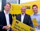 Bernhard Hirczy, Thomas Steiner, Christoph Wolf