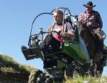Rollstuhl für die Berge