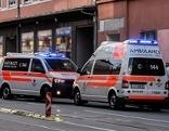 Kind stürzt aus Fenster - Unfallstelle