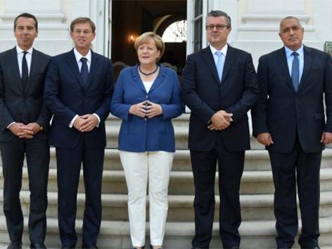 Christian Kern kancler Berlin Angela Merkel Tihomir Orešković Bojko Borisov