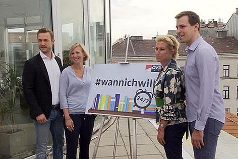 Pressekonferenz der ÖVP Wien zur Öffnung von Bücherein rund um die Uhr mit Obmann Gernot Blümel