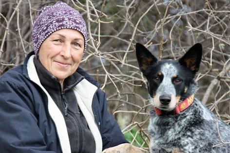 Hundetrainerin Caroline Burchell, aus Innsbruck