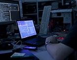 Computer Bildschirme und Hand