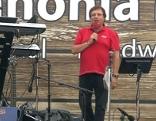Karl Kanitsch auf der Bühne