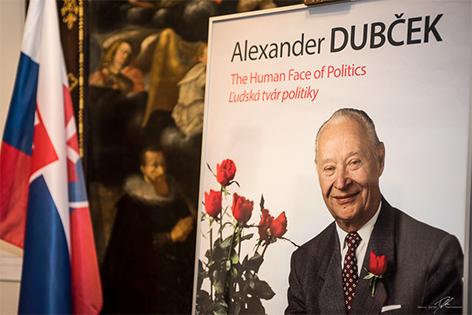 Ausstellung über Alexander Dubcek im Stadtmuseum Sankt Pölten