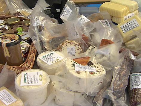 Coppla kaša Železna Kapla praznik gorski kmetje Bele kmečki proizvodi domači produkti
