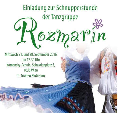 Folkloretanzgruppe Rozmarin