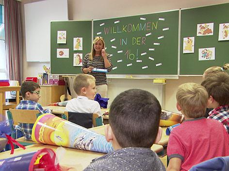 Schulbeginn in Theodor Körner Schule