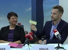 Wirtschaftsstadträtin Renate Brauner und der grüne Wirtschaftssprecher Peter Kraus