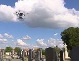 Friedhofsvermessung Drohnen