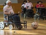 E-Rolli-Fußballer, Elektrorollstuhlfußball