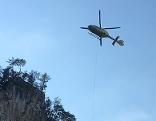 Hubschrauber Alpinunfall