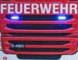 Blaulicht eines Feuerwehrautos