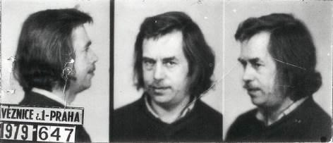 Václav Havel, Polizeifoto
