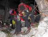 Bergsteigergruppe auf der Rax