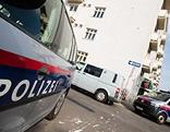 Polizeiauto am Tatort