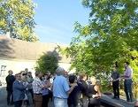 Führung durch Schlossgarten Lackenbach